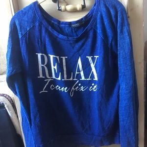 Relax graphic tee, super soft, brand new!