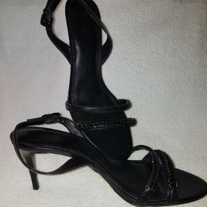 NWOT Michael Kors Strappy Chain Heeled Sandals
