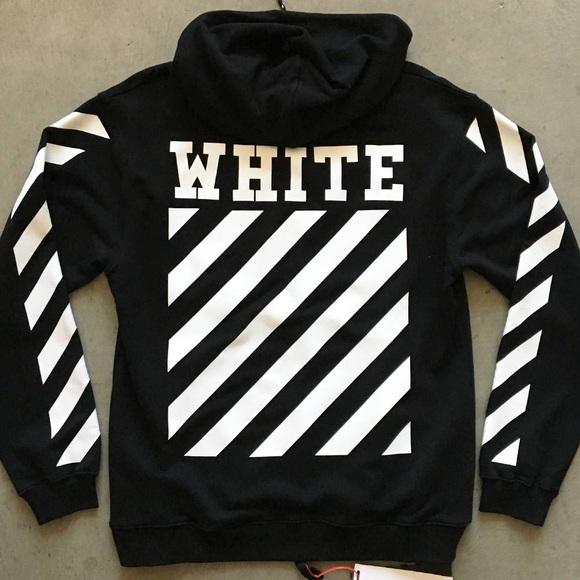 63adcde81 Off-White Shirts | Offwhite Hoodie | Poshmark