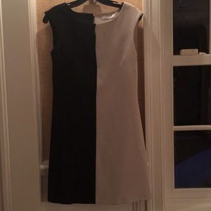 Closet Dress Black and beige size 8