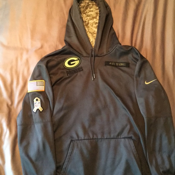 the best attitude 8ac0a 2e47c Nike Green Bay Packers 2016 Salute to Service