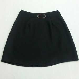 Track Evans Black Mini Skirt Sz 3