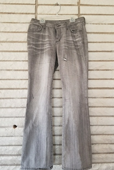 london jeans Denim - Grey distressed jeans size 6