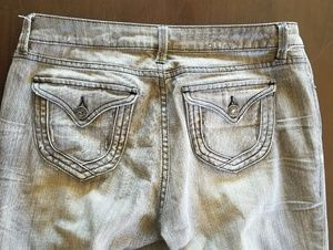 london jeans Jeans - Grey distressed jeans size 6