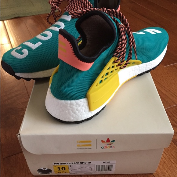 huge selection of 4bba8 12a3a adidas Other - Pharrell NMD Human Races Sunglow Deadstock