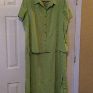 Dresses & Skirts - Roaman's dress 👗 jacket set