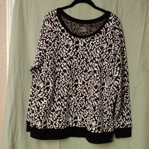 Lane Bryant leopard print top