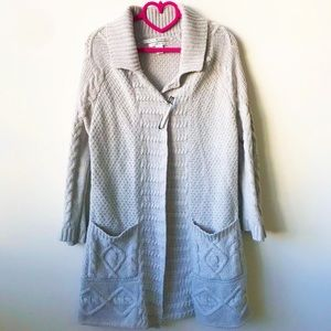 Max Studio Luxury Yarn Duster Cardigan Sweater
