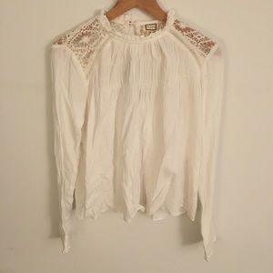 Tops - mo:vint New York Lace Top