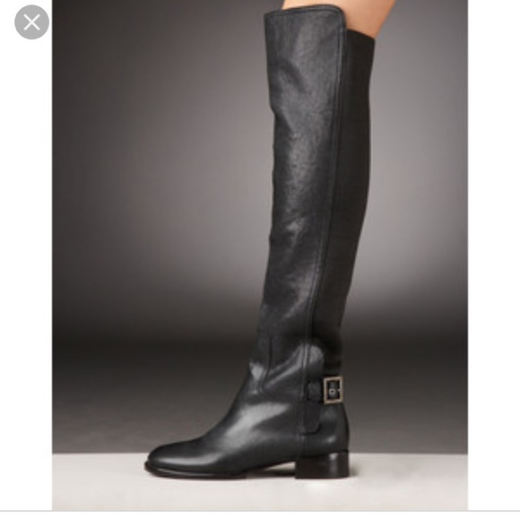 Tory Burch Women's Wyatt Leather Over-the-Knee Boots 8E69KYrN