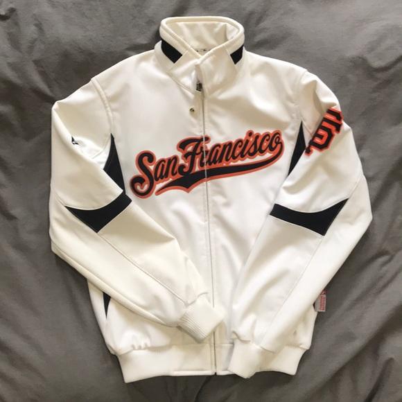 on sale 75646 bb7ff Original San Francisco Giants majestic jacket