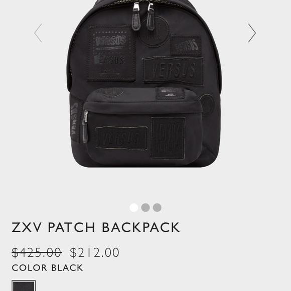 df5f6b2eacc9 Zayn Malik Versus Versace Backpack
