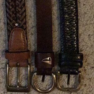 Other - Men's belt bundle.