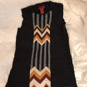 Missoni for Target sleeveless sweater dress