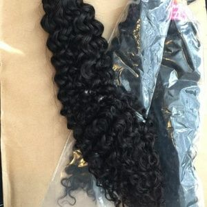 Other - 3 Bundles of Kinky Curly Brazilian Remy