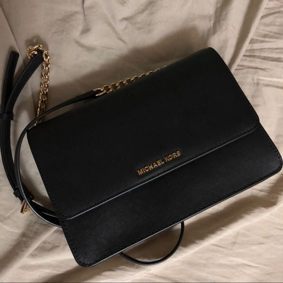 discount shop best supplier vivid and great in style Michael Kors Daniela Crossbody Bag in Black