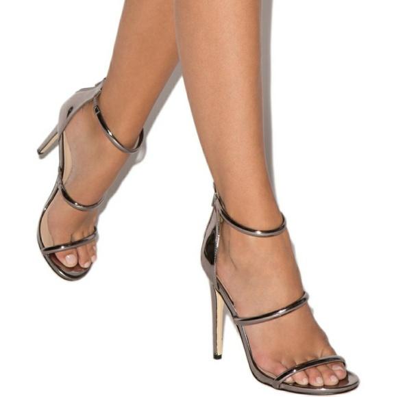 87b98d30b66e4 Shoe Dazzle Shoes | Sylvana Tube Strap Heeled Sandal | Poshmark