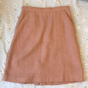 Tucker twill mini pencil skirt