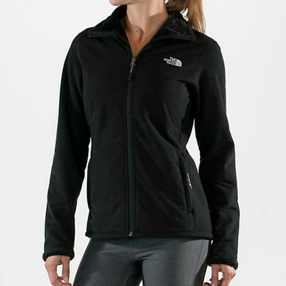 641a79788 The North Face Morning Glory Black Fleece Jacket