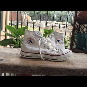 SALE White Converse