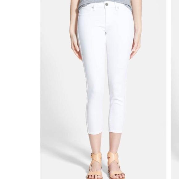 b2fc4749a7c PAIGE Jeans | Verdugo Crop Skinny Crisp White 29 | Poshmark
