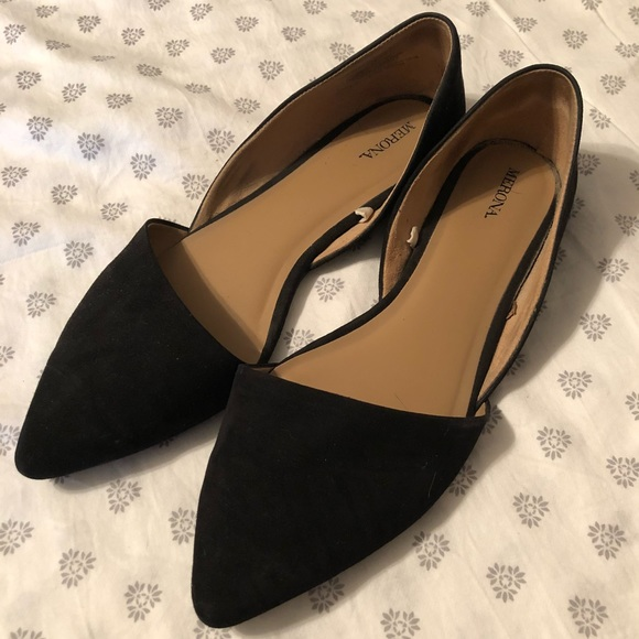 Merona Shoes | Stylish Black Flats With
