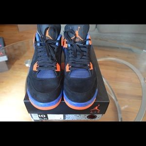 a7b60690c26f91 Air Jordan Shoes - Nike Air Jordan IV 4 Cavs Knicks Men Size 10