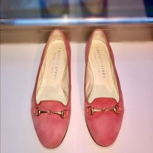 Leather Patricia Green Coral Loafers