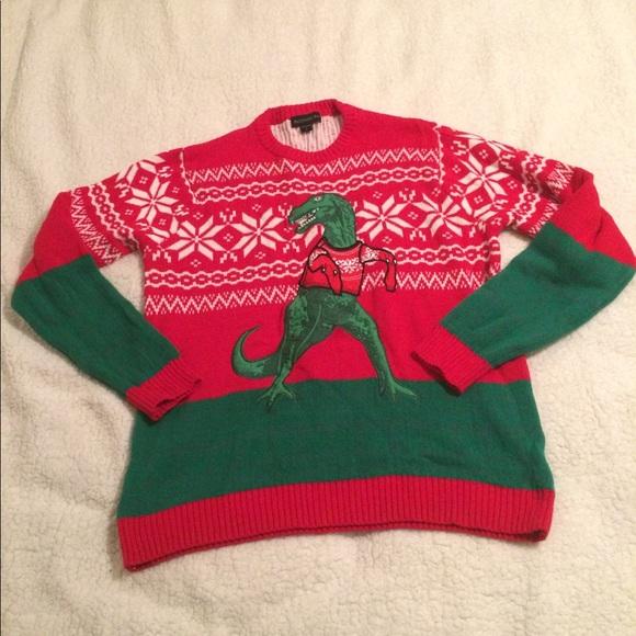 blizzard bay dinosaur christmas sweater - Dinosaur Christmas Sweater