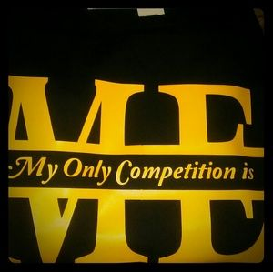 Tops - My Competition Is Me Tee