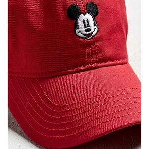 Disney Accessories - !SALE Red Mickey Mouse Disney Dad Hat Baseball cap ab145b0a8840