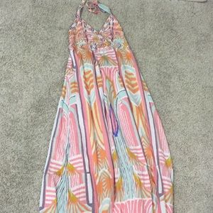 Jessica Simpson beaded maxi dress medium