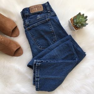 Vintage 90s High Waist Riders Blue Jeans
