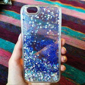 ஐ iphone 6 glittery phone case