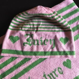 💕Juicy Couture Winter Set Scarf/Beanie💕