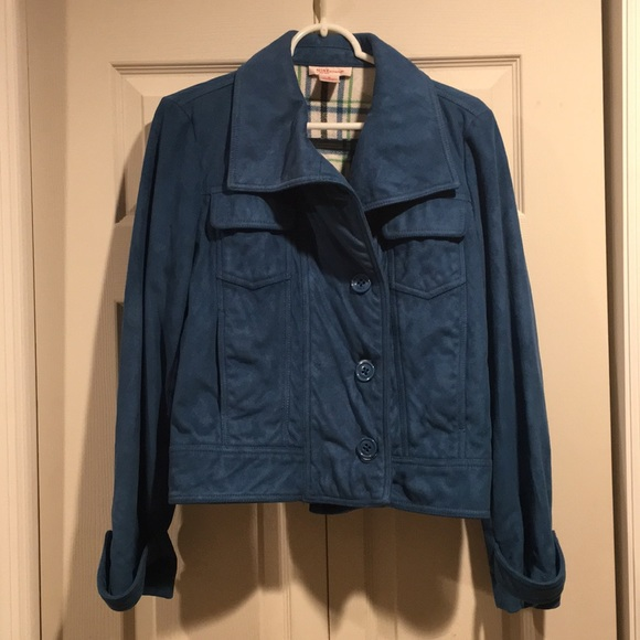 Nine West Jackets & Blazers - Nine West Size M - Blue mid waist jacket