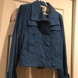 Nine West Jackets & Coats - Nine West Size M - Blue mid waist jacket