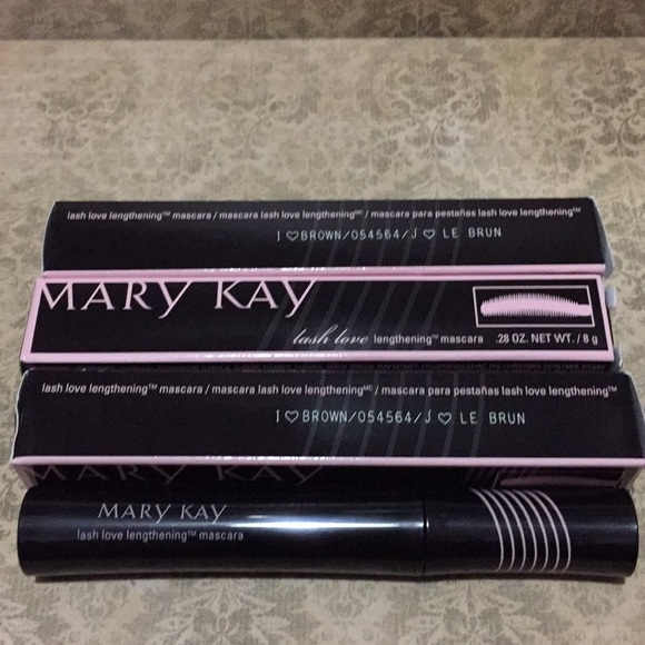 b2725cd0988 Mary Kay Makeup | Three Lash Love Mascara I Brown New | Poshmark