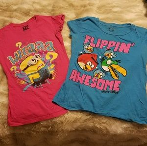 Other - 2 girls character t-shirtBundle and save.