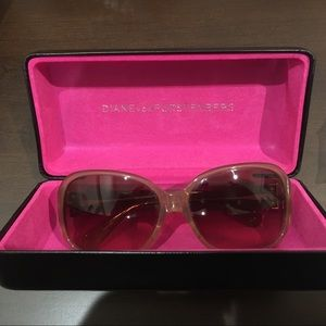 "Diane Von Furstenberg ""Love is Life"" Sunglasses"