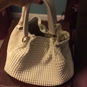 Handbags - Cream color handbag