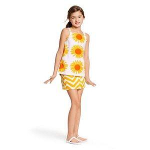 Marimekko Target Skirt Terry Cloth Auringonkukka