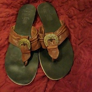 Pelle Moda Italian Artisan Made Leather Sandals