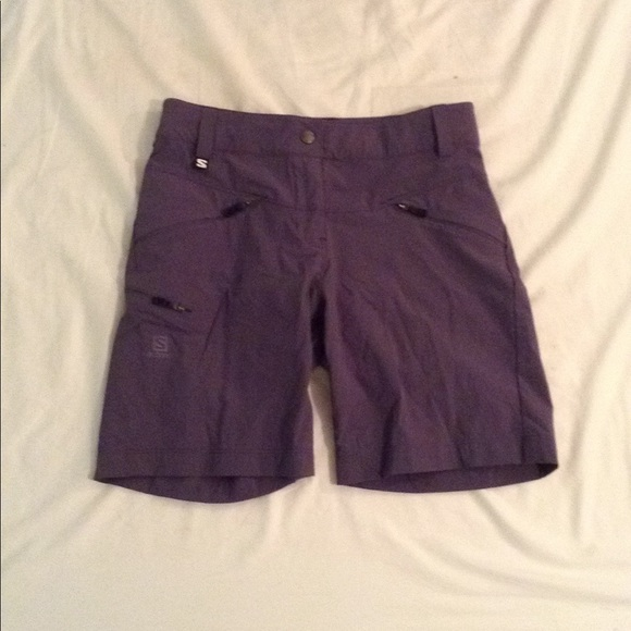 725374d61a63e Salomon Shorts | Pastel Eggplant Colored Cargo Hiking Short | Poshmark