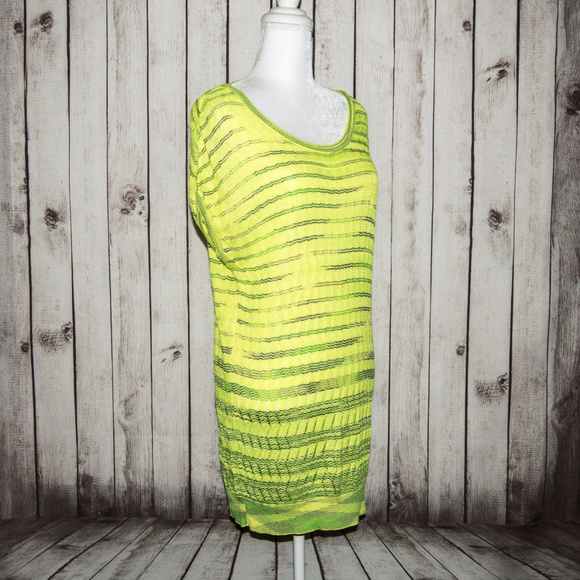 9489f38cbf6 Vintage Missoni Sleeveless Mesh Knit Sweater Dress
