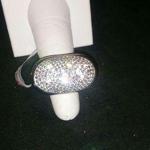 Jewelry - NWT....SWAROVSKI WHITE CRYSTAL RING