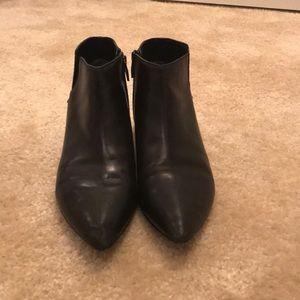 Sigerson Morrison Black Ankle Bootie