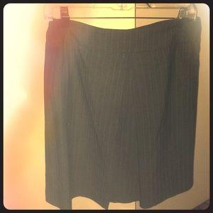 Jey cole man classic grey pinstripe, wool skirt