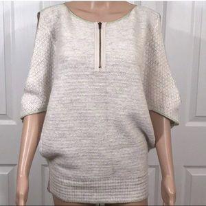 Free People Slit Shoulder Sweater