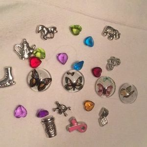 Jewelry - Floating charms for necklace